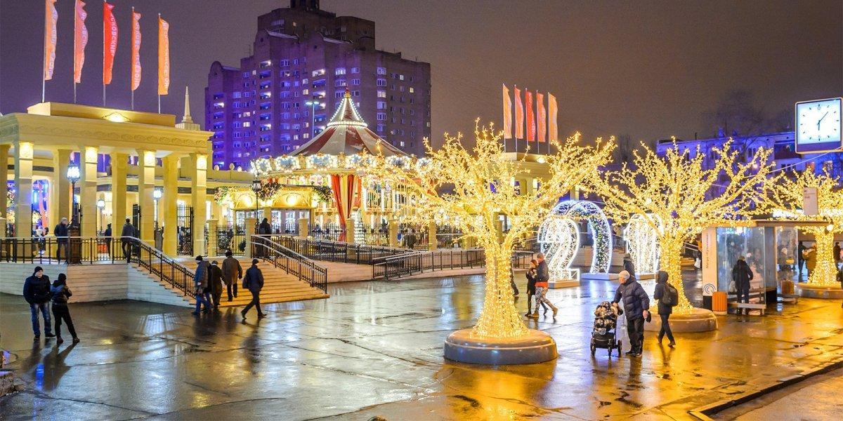 Как провести новогодние праздники в Москве?