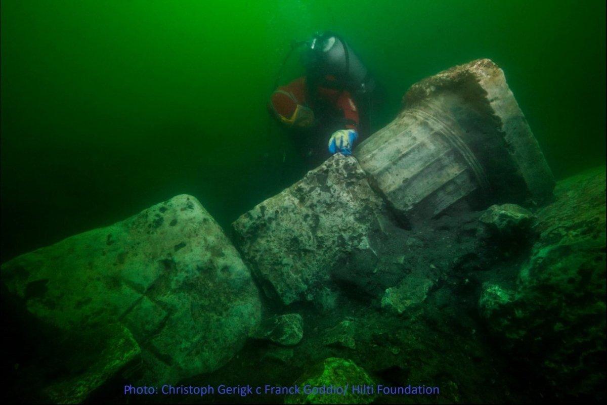 На дне Нила нашли древние сокровища