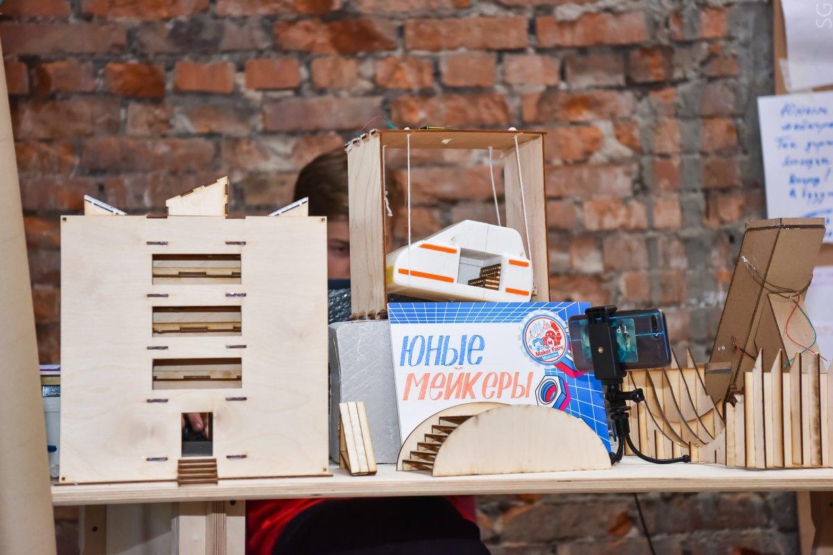 Московские школьники представили свои изобретения на Maker Faire Moscow