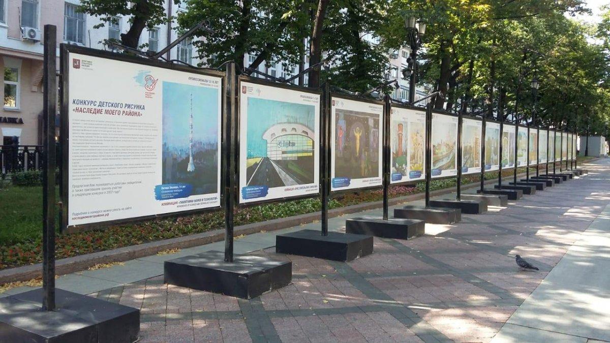 В столице открылась выставка победителей конкурса «Наследие моего района»