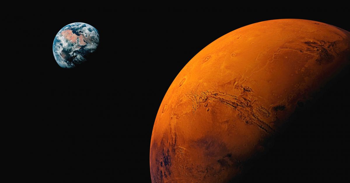 Марс не из нашей Солнечной системы