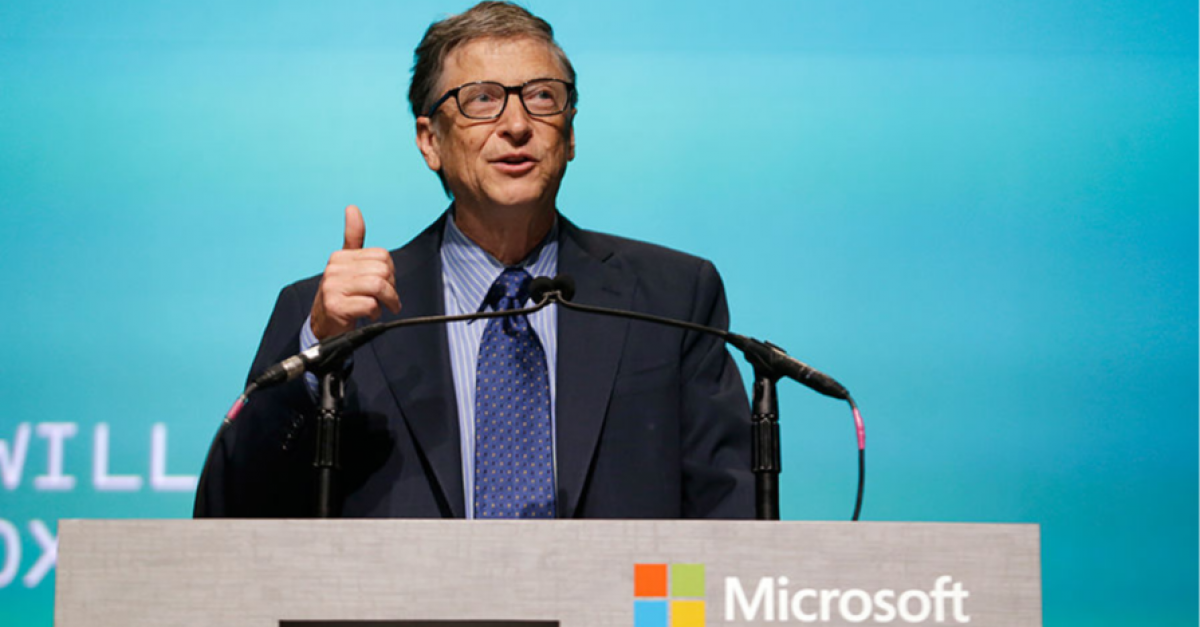 Сооснователь Microsoft Билл Гейтс стал «Тайным Сантой»