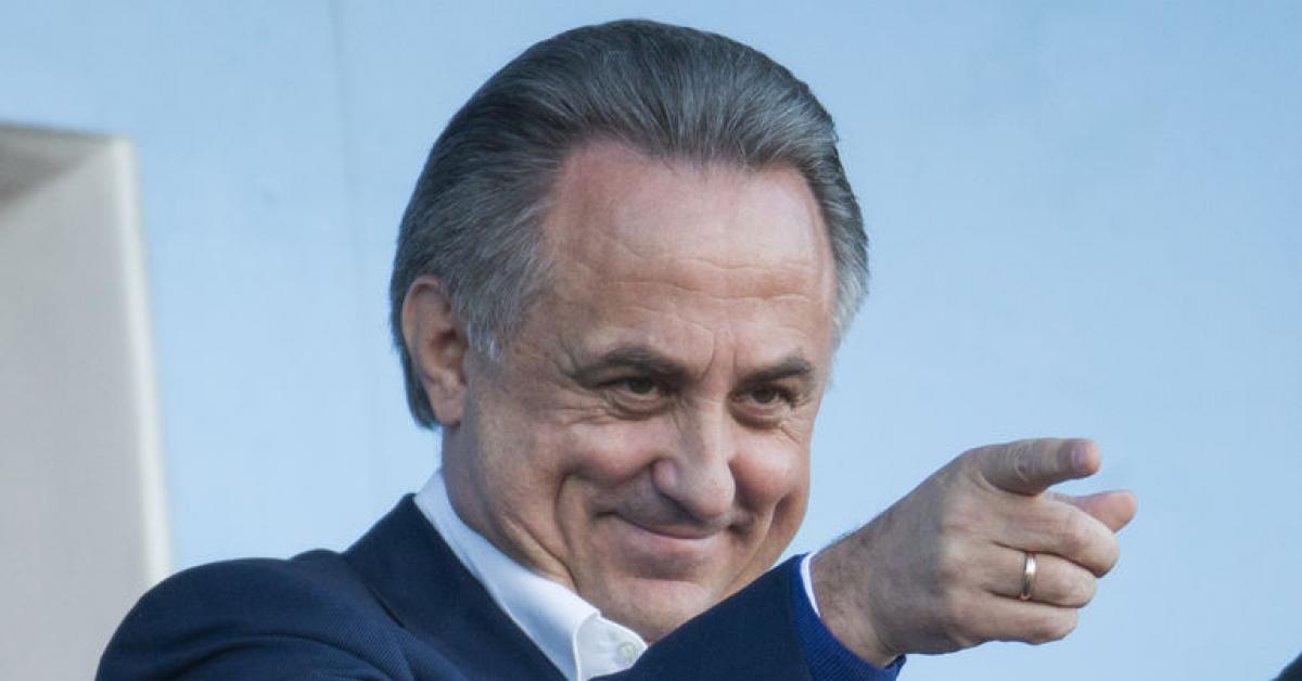 Виталий Мутко приостановил деятельность на посту главы РФС