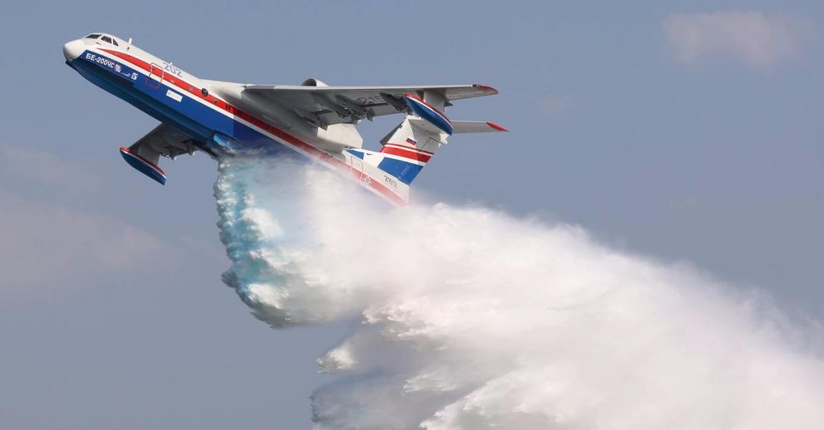 В Сибири в тушении пожаров участвуют 10 воздушных судов