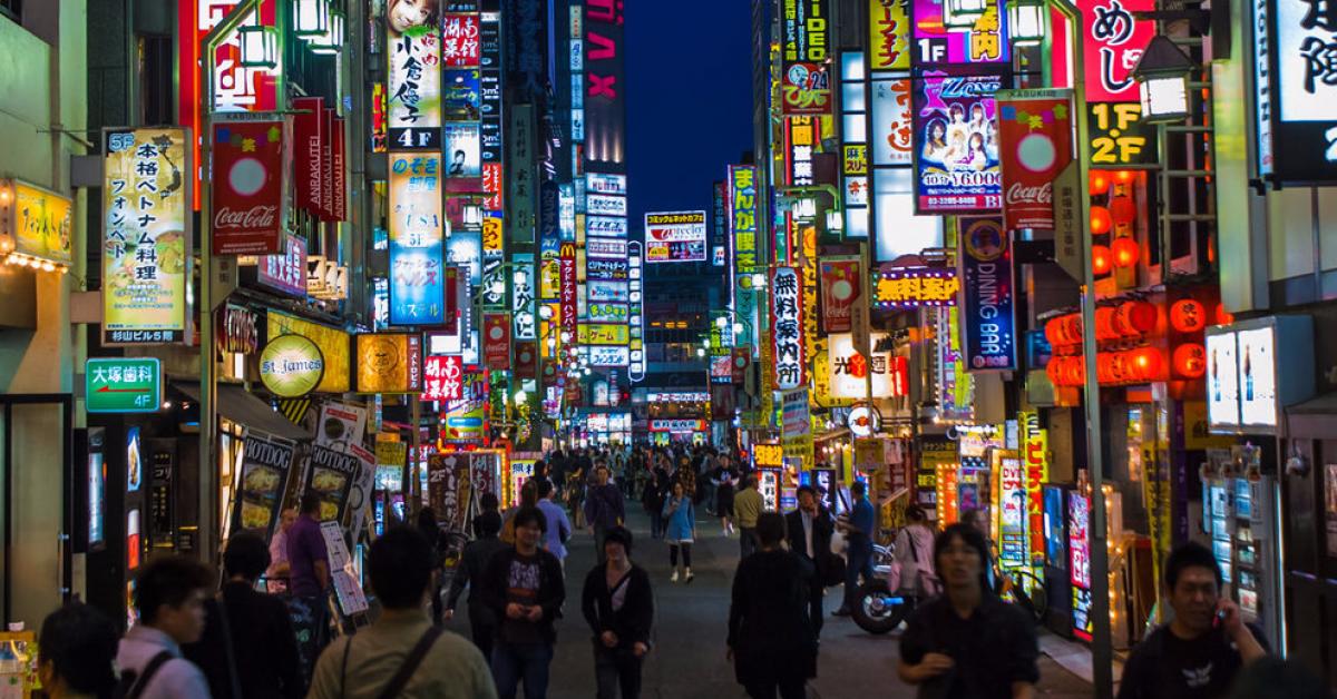 В Токио девушкам до 18 лет запретили ходить на «свидания за вознаграждение»