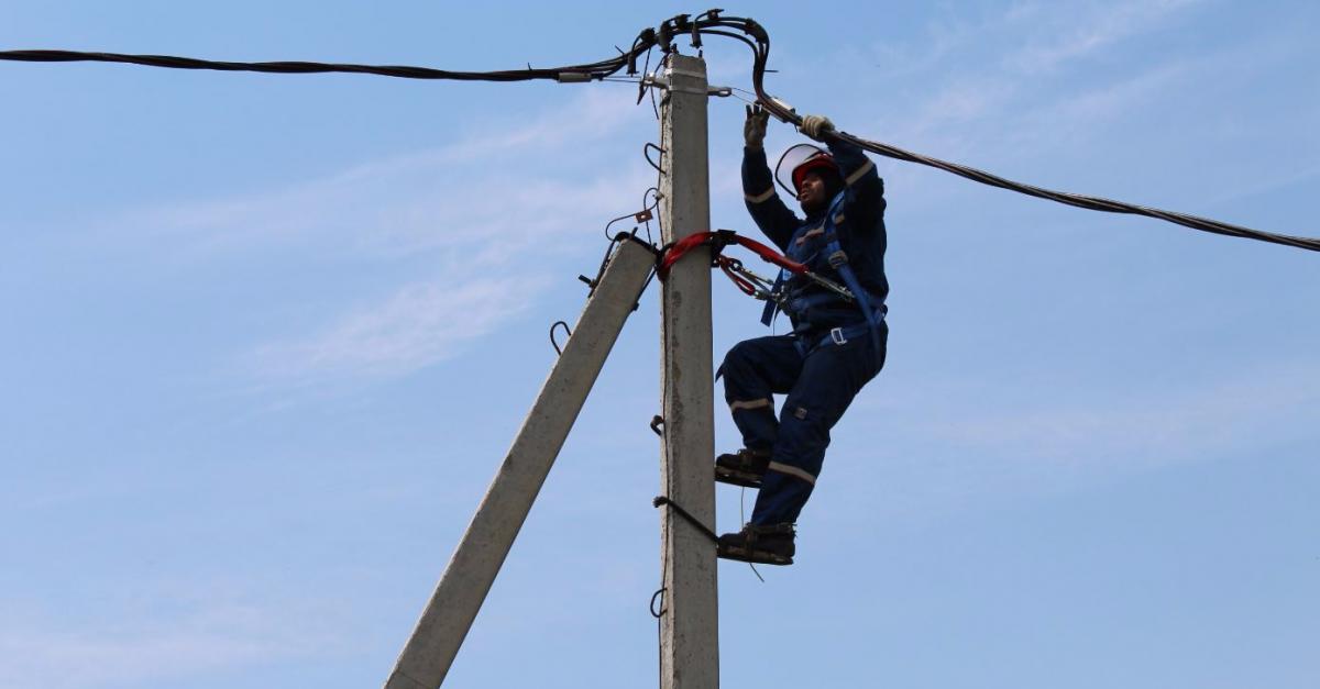 Энергетики полностью восстановили электроснабжение потребителей в столичном регионе