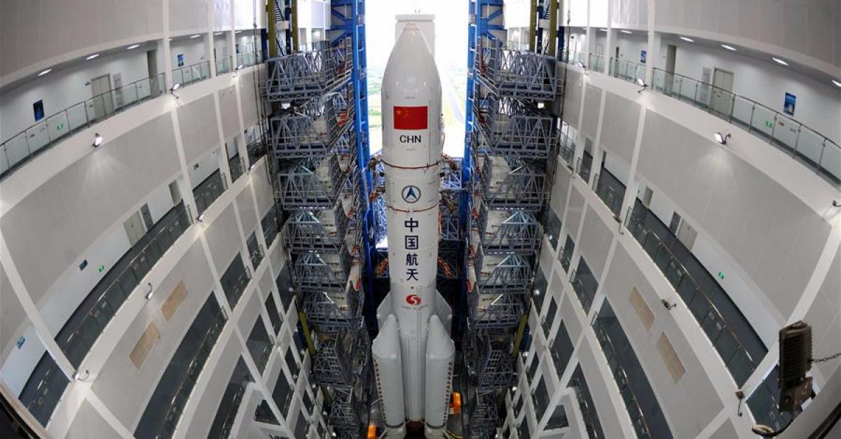 Пуск китайской ракеты-носителя «Великий поход-5» прошёл неудачно