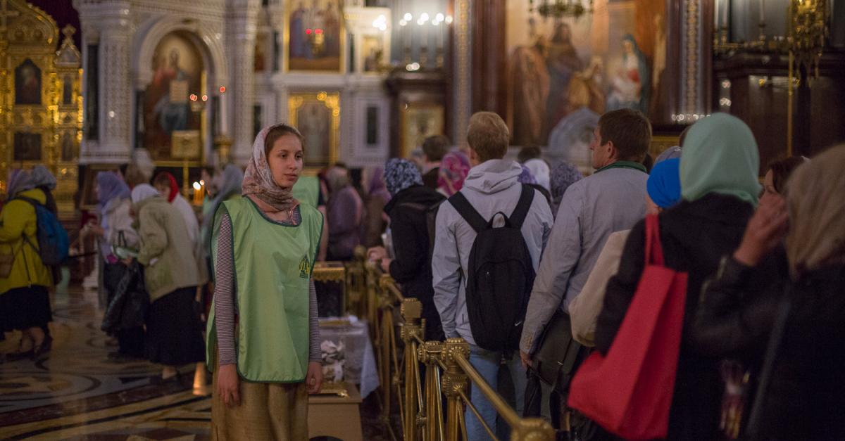 Мощи Николая Чудотворца прибыли в Санкт-Петербург