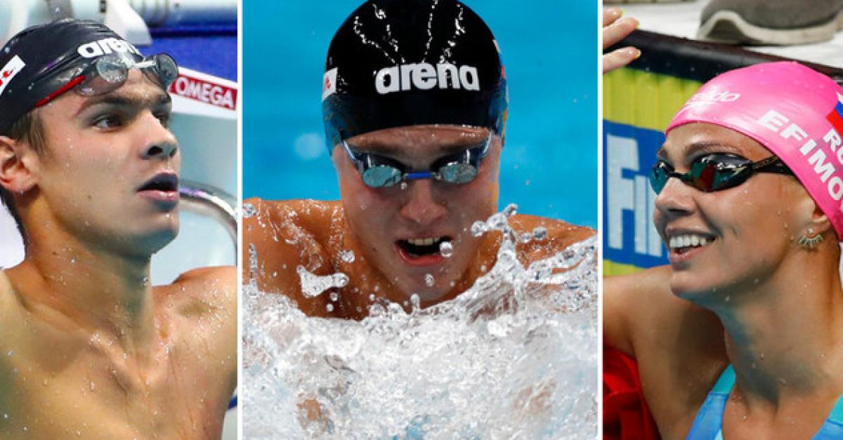 Три золота и серебро выиграли российские пловцы в один день ЧМ