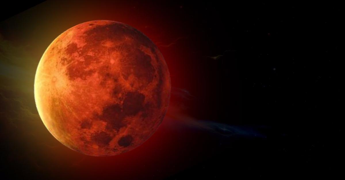 """Сегодня взойдет """"кровавая"""" Луна"""