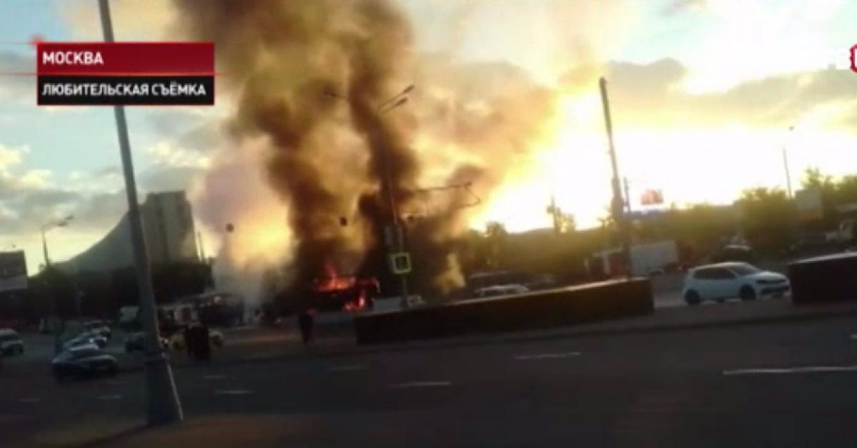 На Варшавском шоссе произошла страшная авария