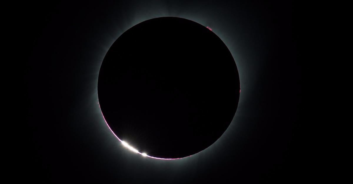 Фотографии солнечного затмения