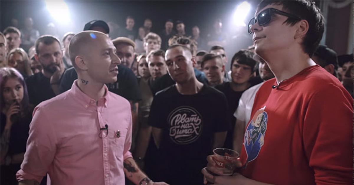 Российские СМИ оштрафуют за публикацию видеофрагментов рэп-баттла Оксимирона с Гнойным