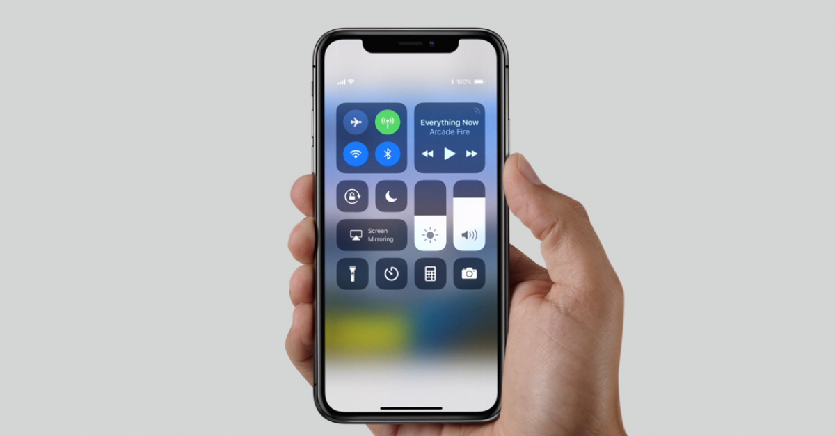 У нового iPhone X проблема с динамиком