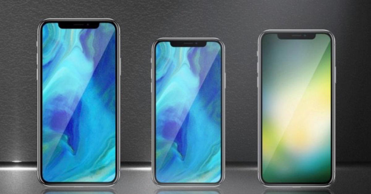 Apple может выпустить в следующем году три новых смартфона