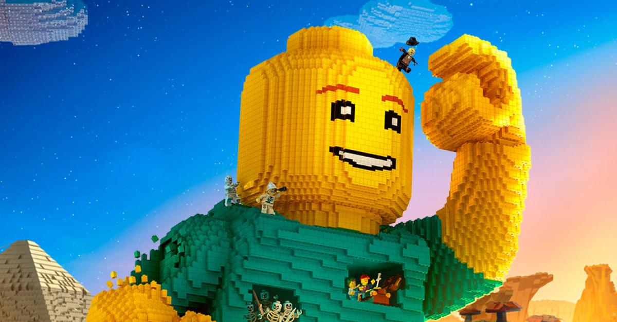Компания LEGO превратила родителей в детей
