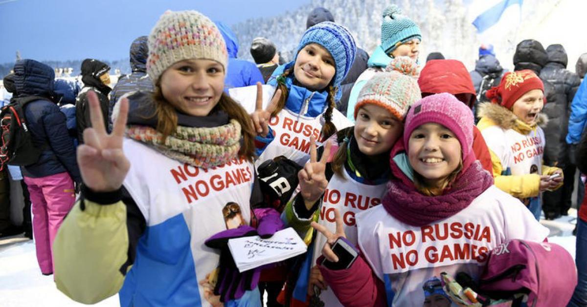 Запустили флешмоб в поддержку российских спортсменов #noRUSSIAnoGAMES