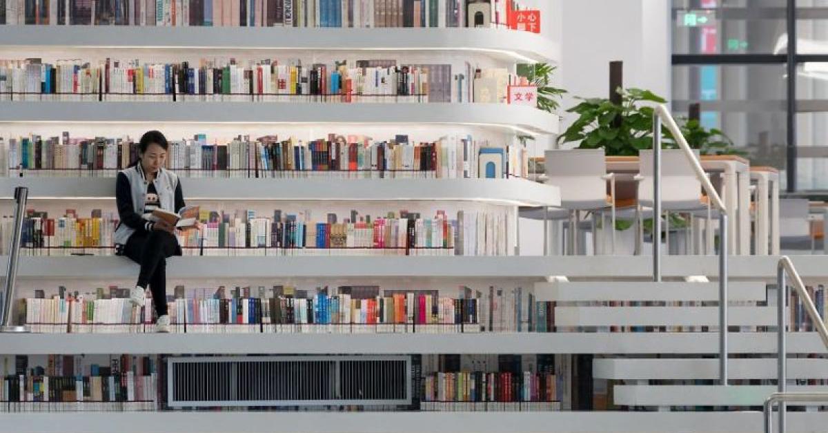 В Китае открылась необычная библиотека