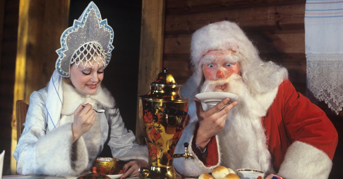 Непьющий Дед Мороз
