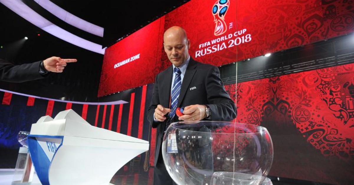 В Москве проходит жеребьевка Чемпионата мира по футболу 2018