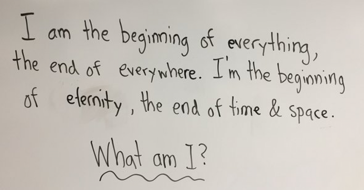 Неправильный ответ на загадку учителя заставил всех задуматься