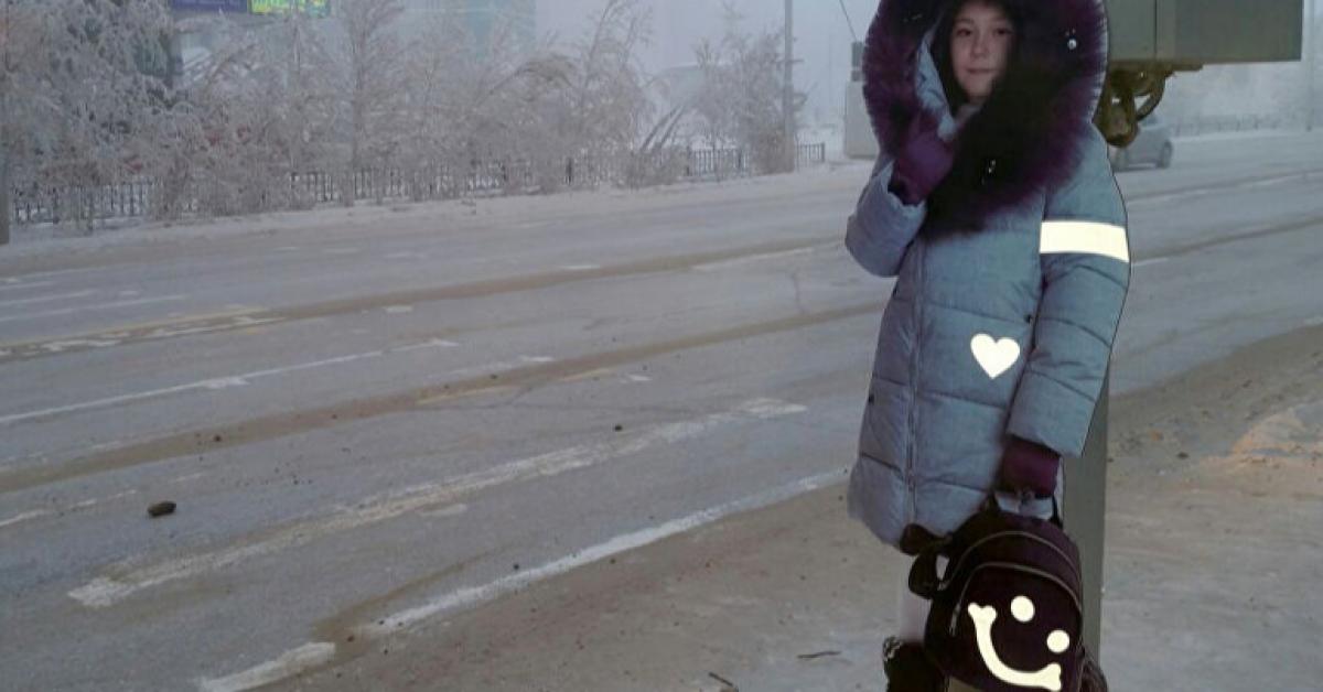 В Якутске появились манекены школьников