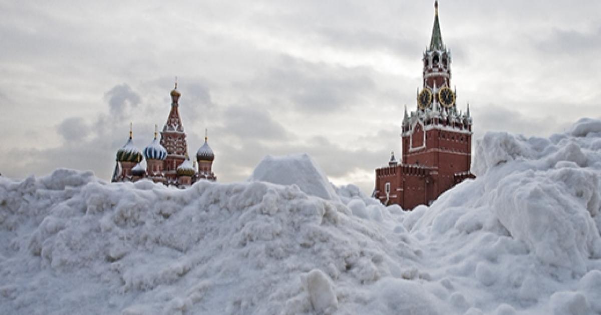 О последствиях снегопада отчитался мэр Москвы
