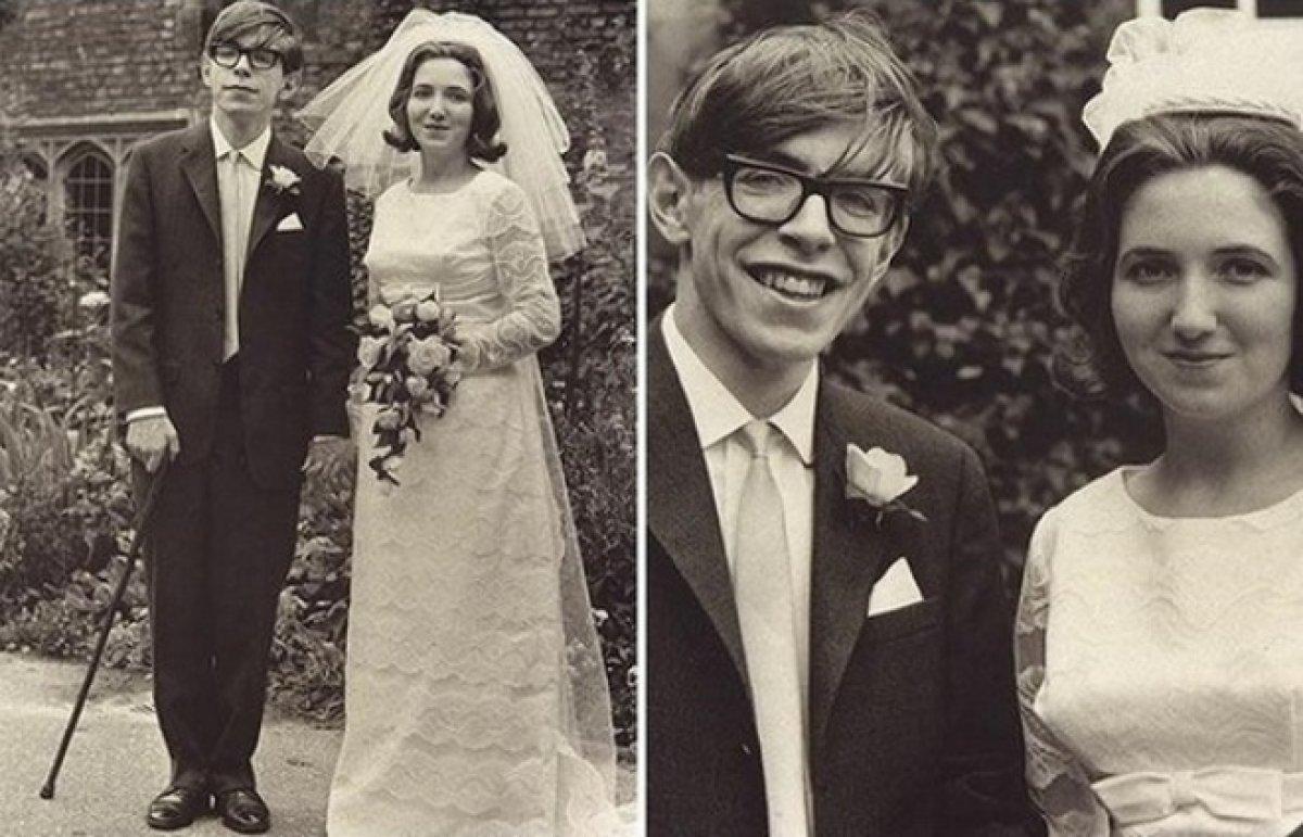 Стивен Хокинг и его первая жена, Джейн Уайльд