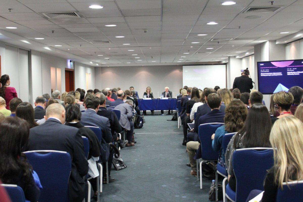 Лекция «Диджитализация образования: взгляд ректоров университетов»