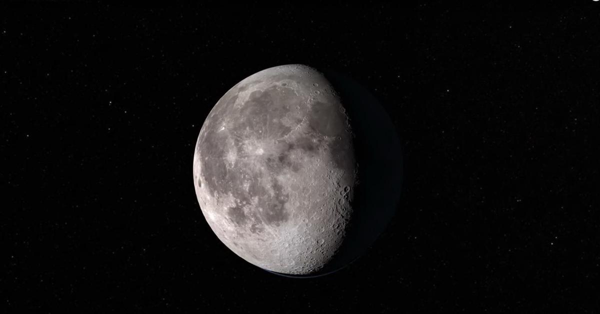 Tour of the Moon in 4K: видеоролик-экскурсия по Луне