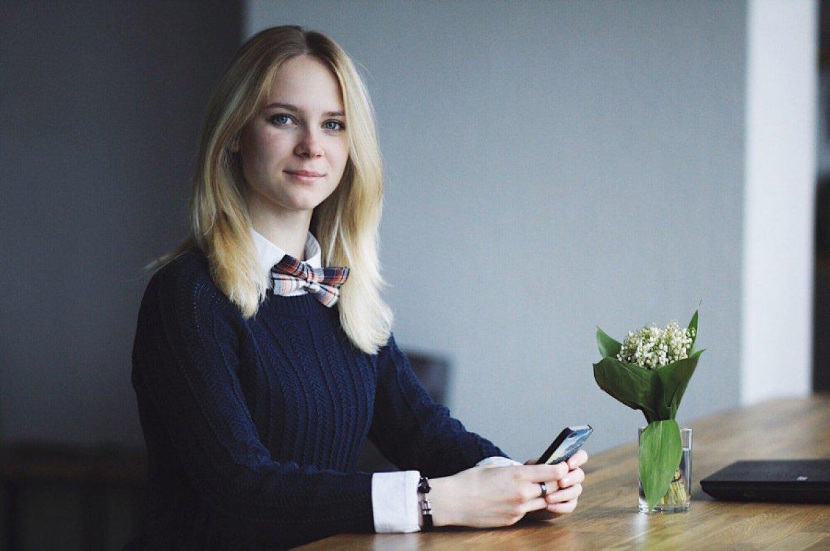 Безбородова Анастасия, студентка НИУ ВШЭ