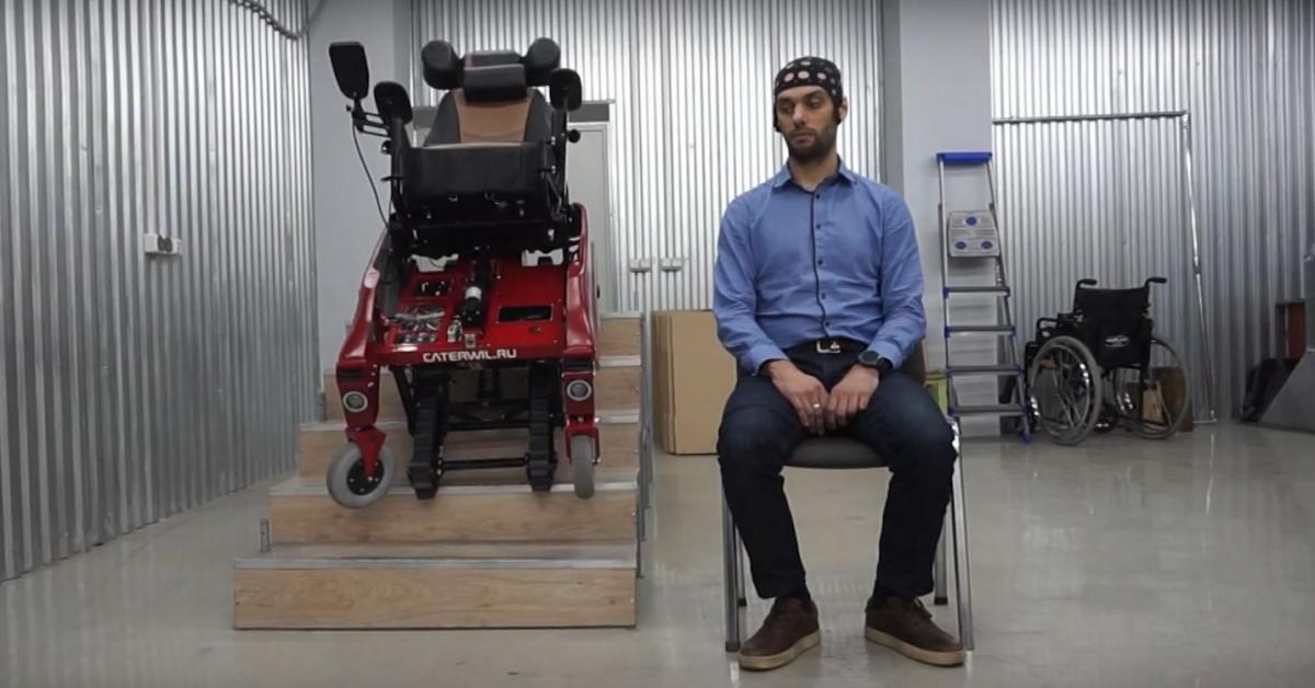 Отечественные учёные создали «умную» инвалидную коляску