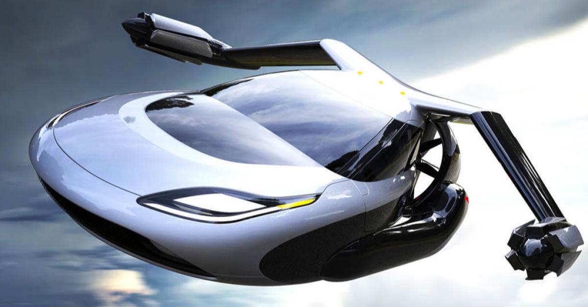 Летающий автомобиль скоро станет реальностью