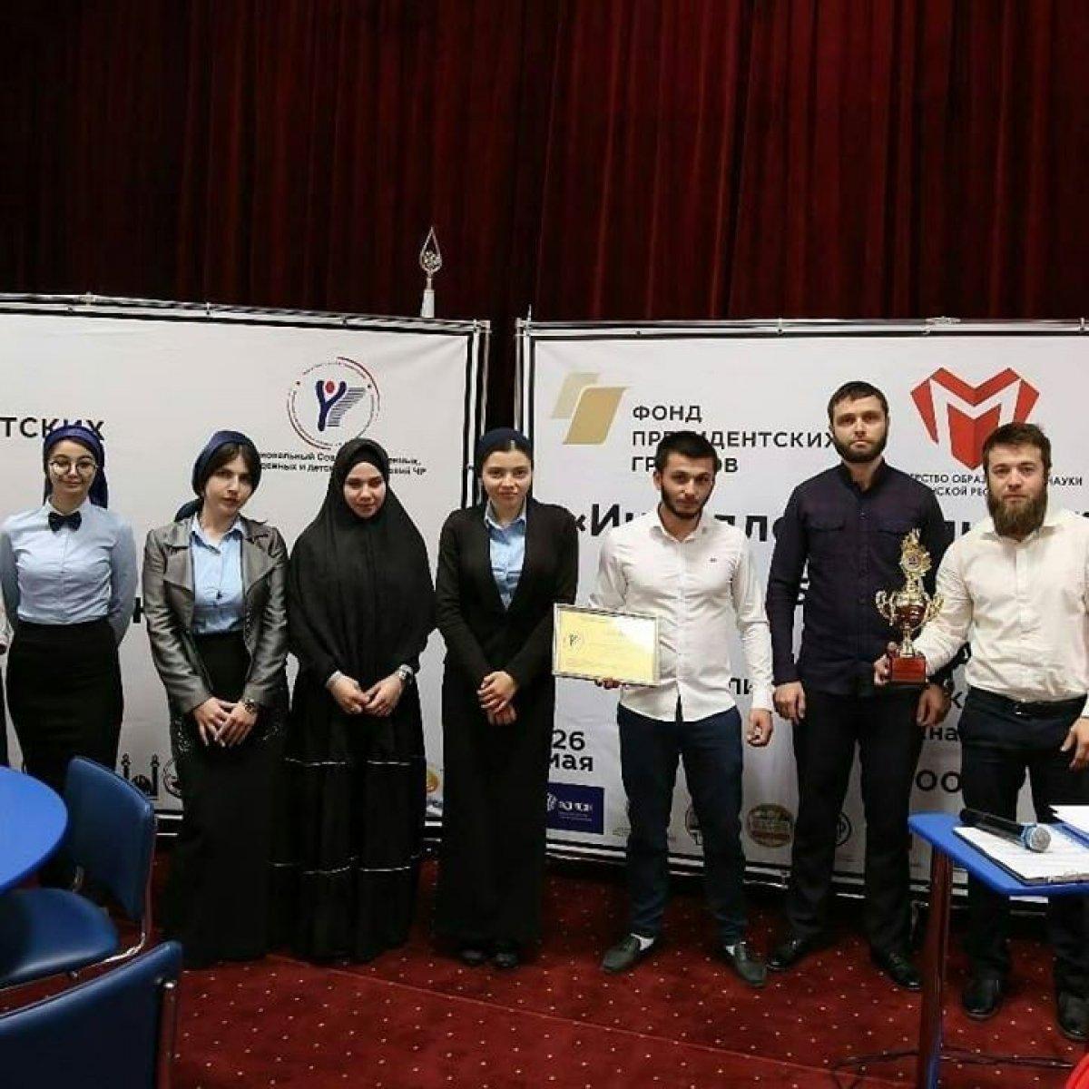 Команда студентов Чеченского государственного университета стала чемпионом Брейн-ринга!