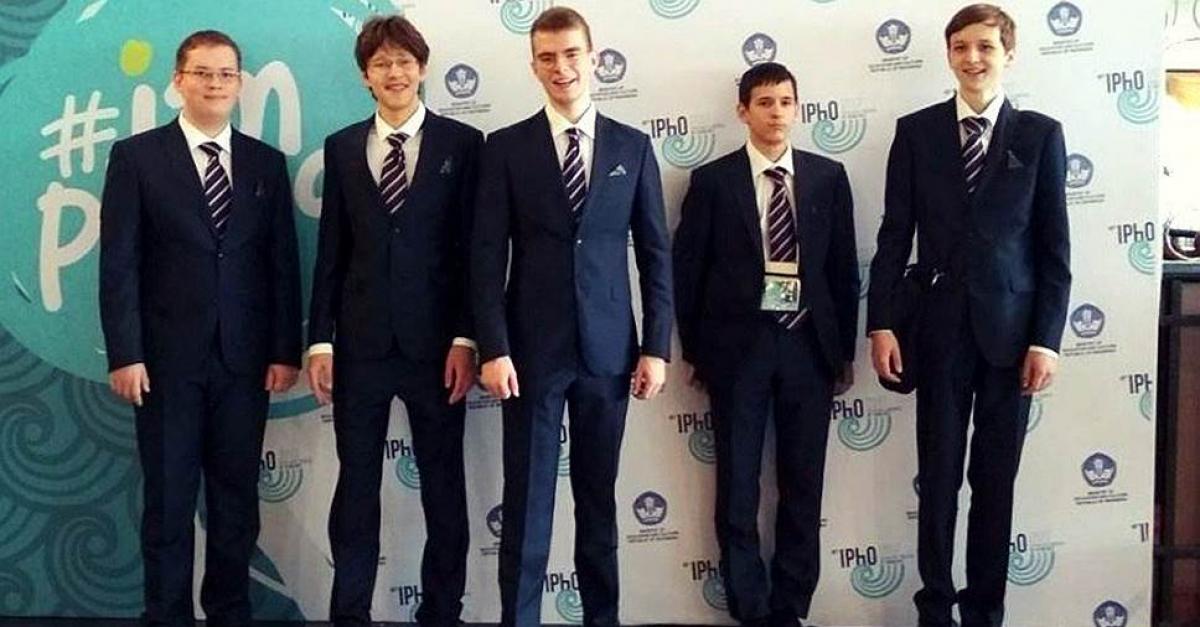 Юные математики завоевали 5 медалей на международном конкурсе