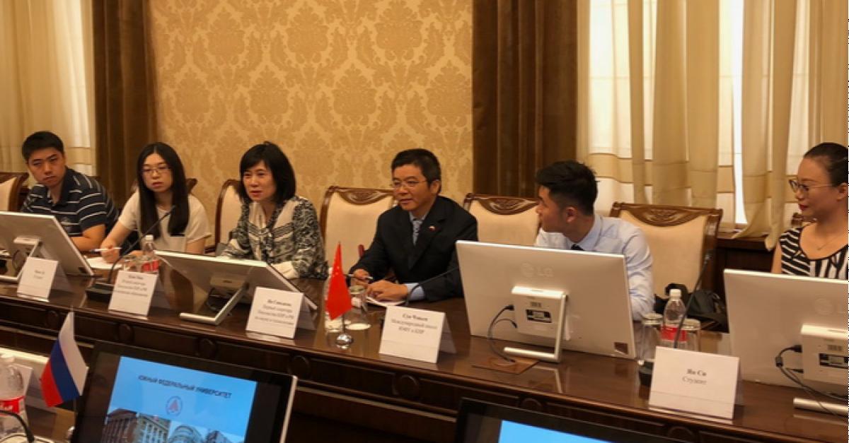 ЮФУ планирует укрепить сотрудничество с китайскими вузами