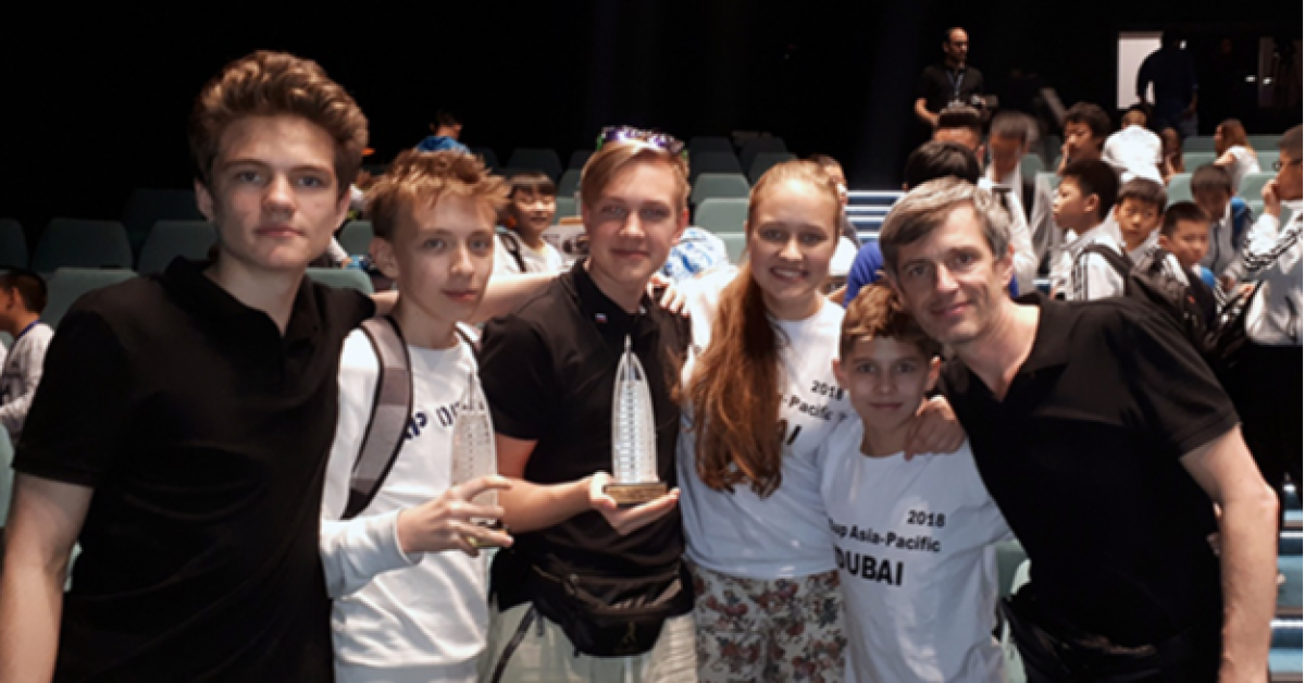 Российские школьники победили в мировом чемпионате по робототехнике
