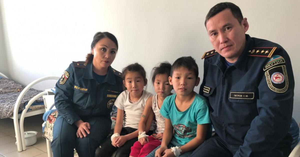 Десятилетний школьник спас из огня четверых детей