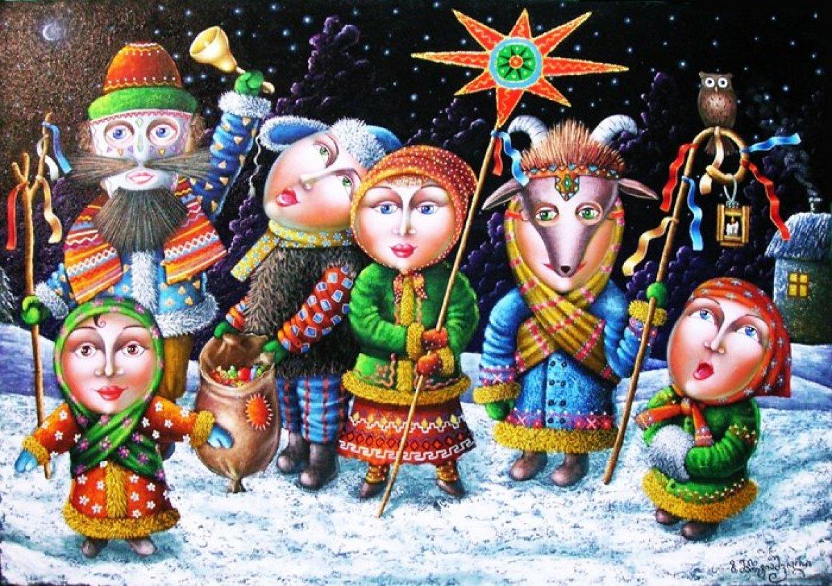 прикольные картинки с новым годом украинские фото несколько