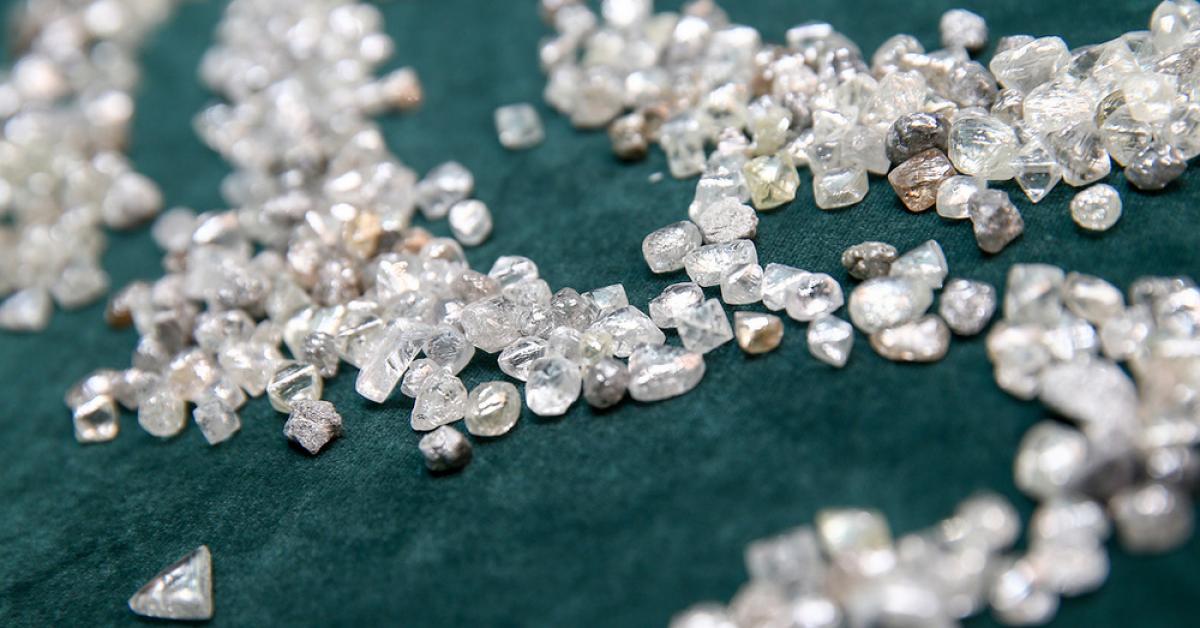 Блокчейн-технология подтвердит подлинность бриллиантов
