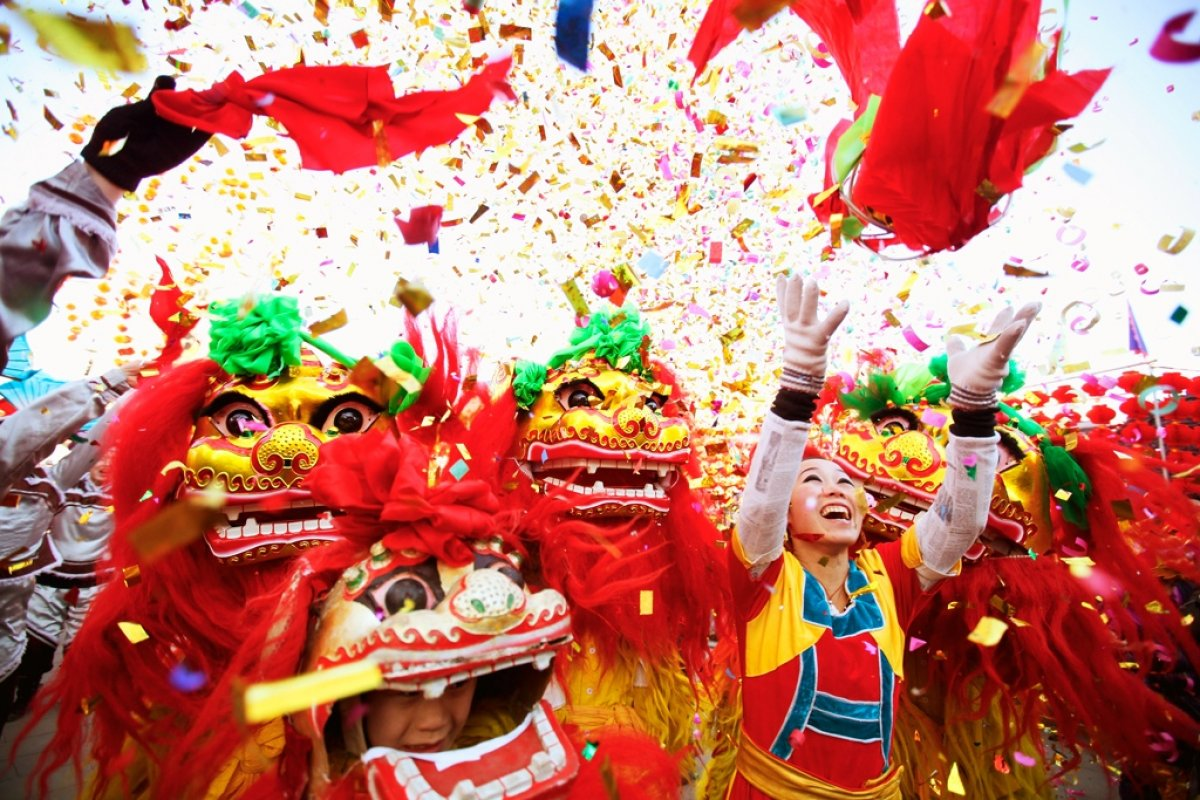 новый год в китае фото его