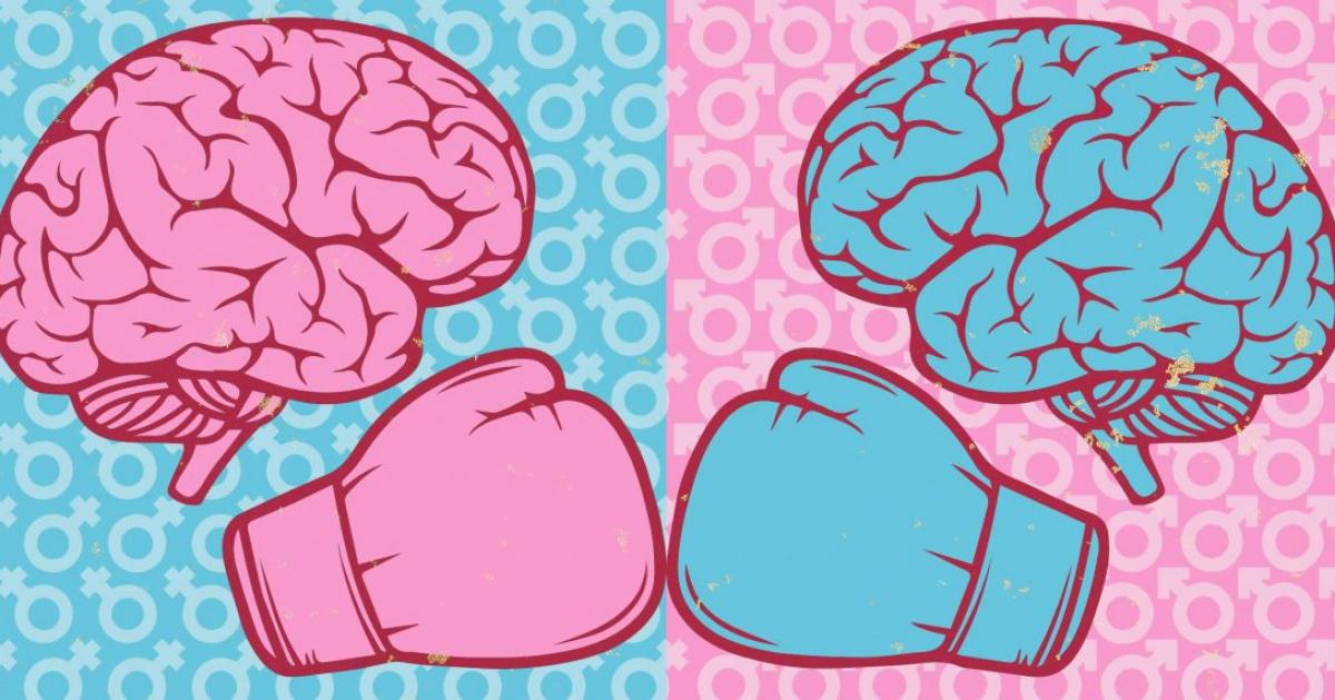 Женский мозг стареет медленнее мужского