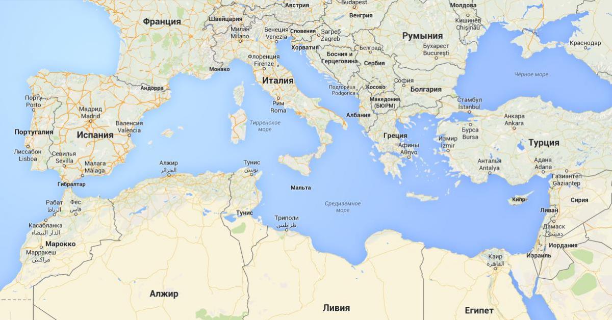 Какой видят Россию в Средиземноморье?