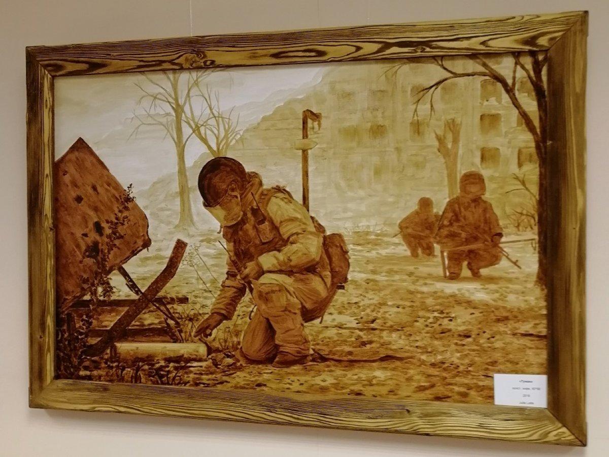 20 марта в Тамбовском филиале РАНХиГС открылась персональная выставка картин «Сирия. Мин нет!» художницы Юлии Латте😍