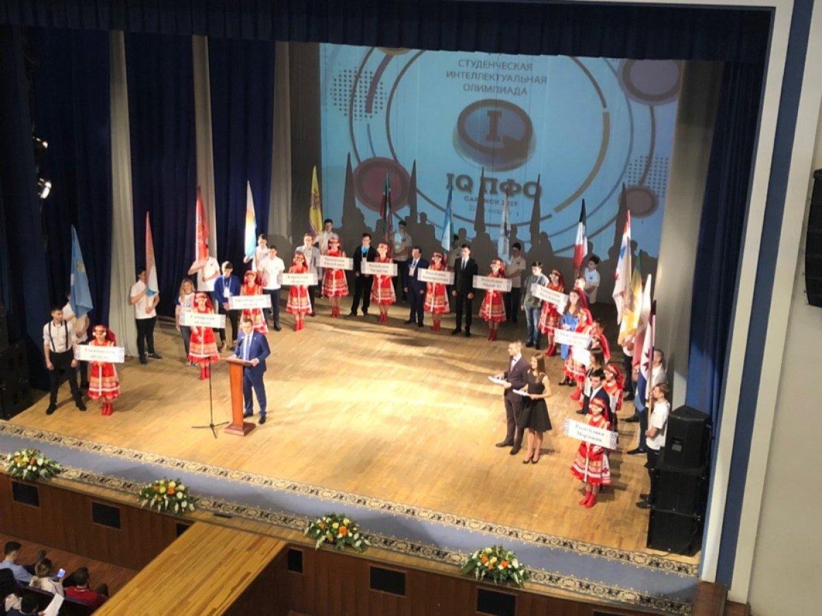 Сегодня в Саранске открылась Студенческая интеллектуальная Олимпиада IQ ПФО