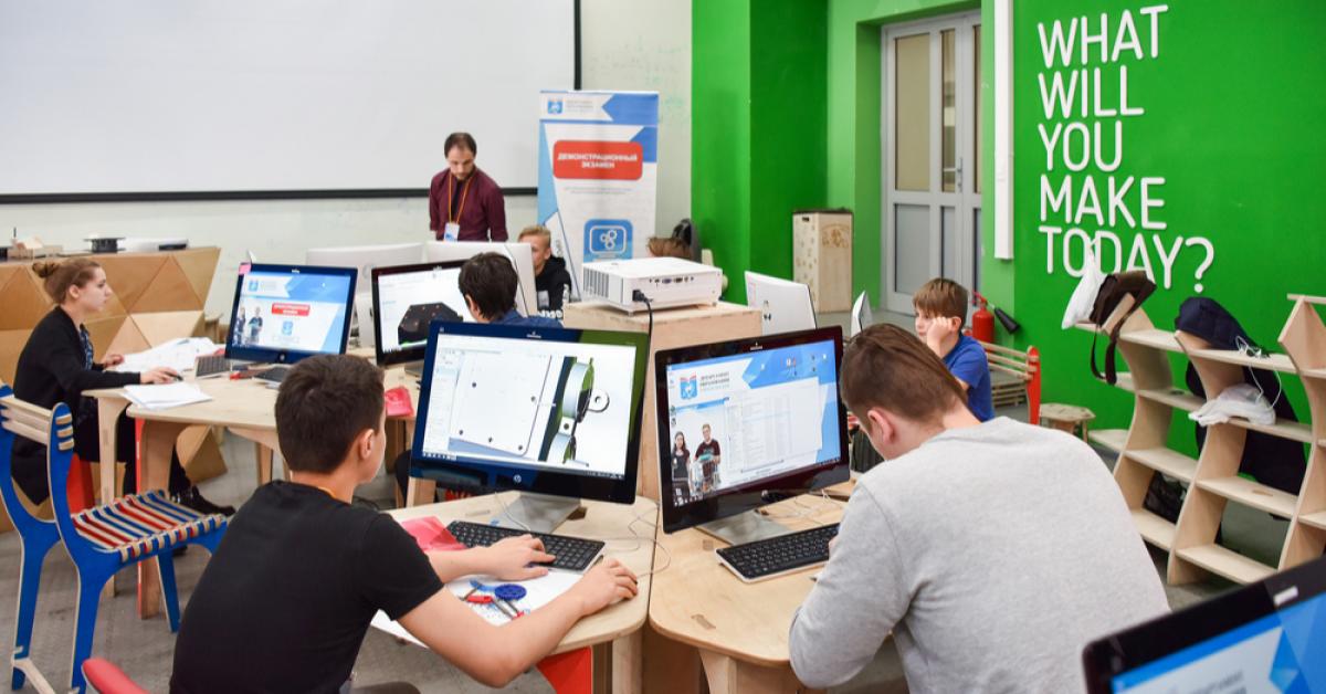 В НИТУ «МИСиС» прошёл демонстрационный экзамен для школьников