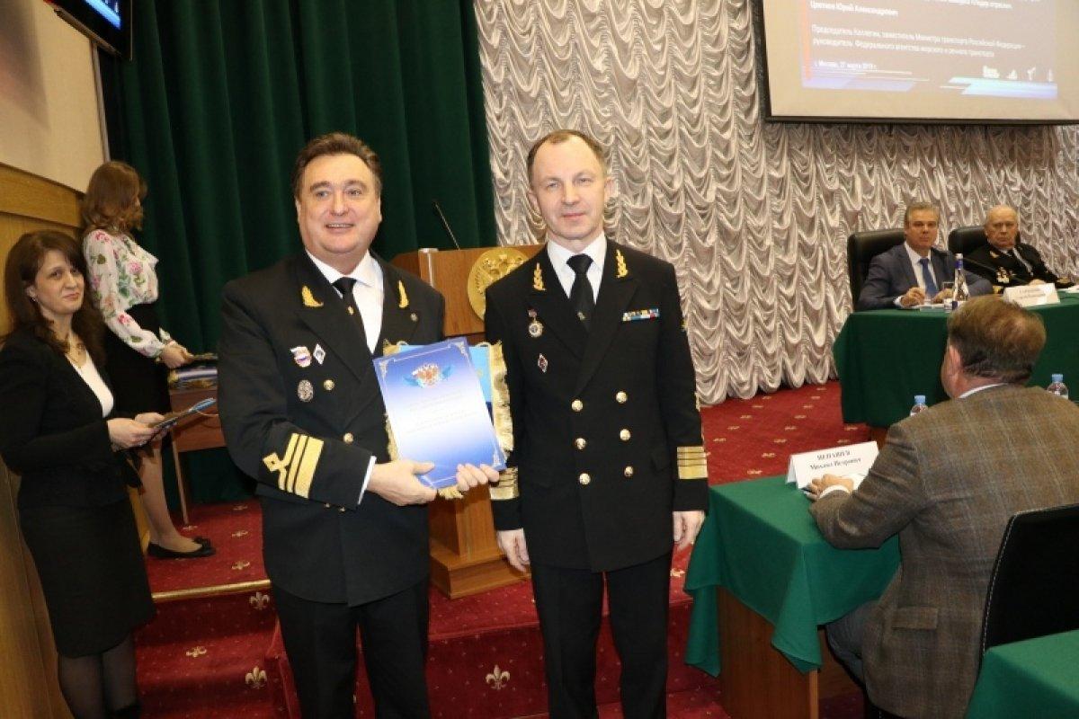 Государственный морской университет имени адмирал Ф.Ф. Ушакова в 6 раз стал