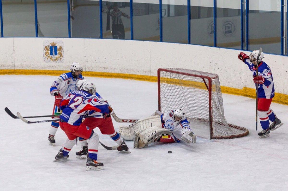 С 29 по 31 января в Ульяновске прошел 4й тур первенства Студенческой хоккейной лиги