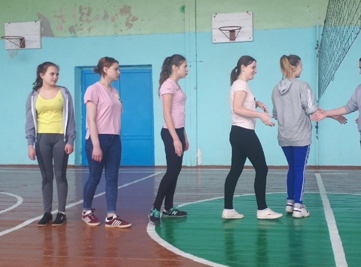 Первенство по волейболу