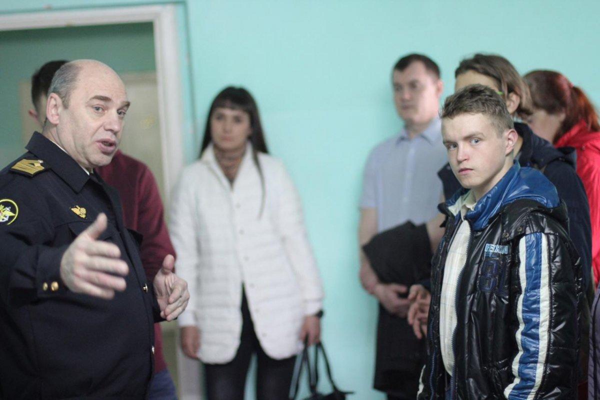 24 апреля Красноярский институт водного транспорта гостеприимно распахнул свои двери